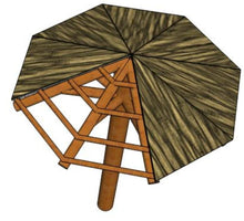 Load image into Gallery viewer, Palapa Umbrella Netting All Sizes - Palapa Umbrella Thatch Company Online