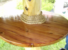 Load image into Gallery viewer, Palapa Umbrellas Round Pinewood Table - Palapa Umbrella Thatch Company Online