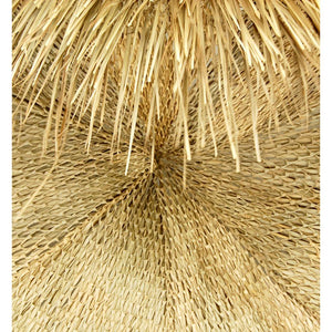 2 Post Oval Palapa Umbrella Kit 12' x 24' - Palapa Umbrella Thatch Company Online