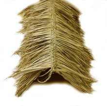 "Load image into Gallery viewer, Mexican Tiki Palm Thatch Ridge Cap Roll 30""x 6' - Palapa Umbrella Thatch Company Online"