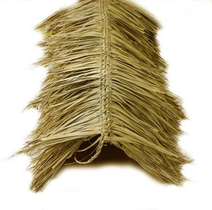 "Mexican Tiki Palm Thatch Ridge Cap Roll 30""x 25' - Palapa Umbrella Thatch Company Online"