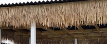 "Load image into Gallery viewer, Mexican Palm Tiki Thatch Runner Roof Roll 48""x 8' - Palapa Umbrella Thatch Company Online"