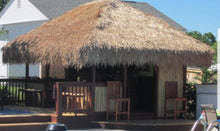 "Load image into Gallery viewer, Mexican Palm Thatch Hip Top Cover 30"" - Palapa Umbrella Thatch Company Online"