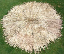Load image into Gallery viewer, Mexican Palm Thatch Palapa Umbrella Top Cover 14ft - Palapa Umbrella Thatch Company Online