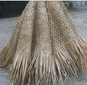 "Mexican Palm Thatch Hip Top Cover 30"" - Palapa Umbrella Thatch Company Online"