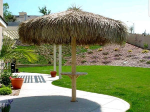 Mexican Palm Thatch Palapa Umbrella Top Cover 14ft - Palapa Umbrella Thatch Company Online