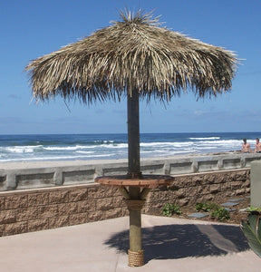 Mexican Palm Thatch Palapa Umbrella Top Cover 10ft - Palapa Umbrella Thatch Company Online