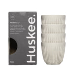 4 x 6oz HuskeeCups (Natural)