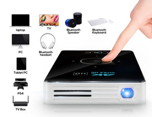 Smart Android 4K Projector