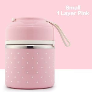 Kids Lunch Box Portable Bento Food Container