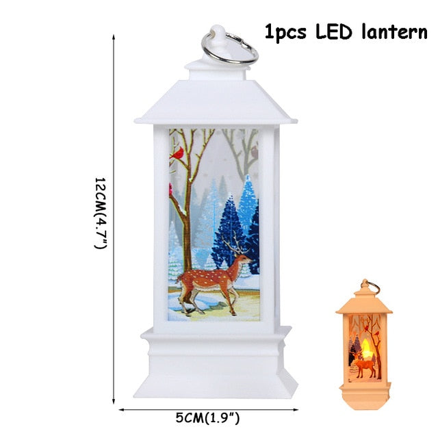Lantern Led Candle Tea light Candles Christmas Decorations