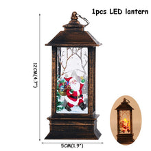Load image into Gallery viewer, Lantern Led Candle Tea light Candles Christmas Decorations