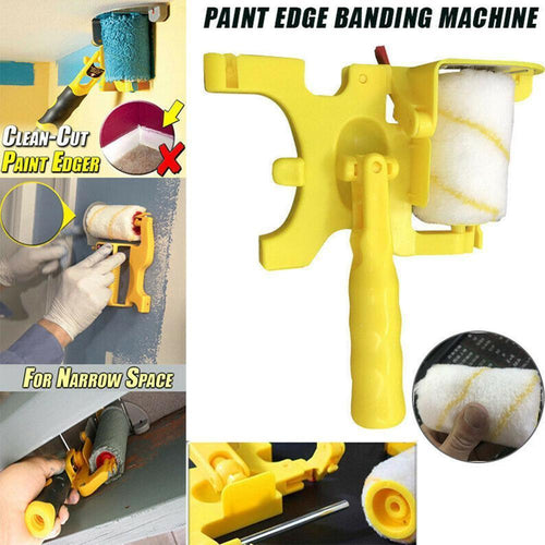 Clean-Cut Paint Edger Roller Brush Safe