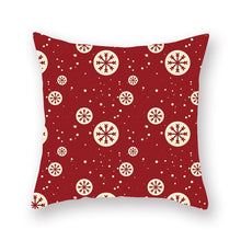 Load image into Gallery viewer, Christmas Xmas Red Pillowcases