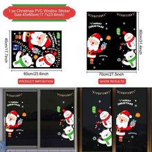 Load image into Gallery viewer, Window Sticker Santa Claus Merry Christmas