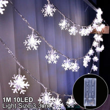 Load image into Gallery viewer, Snowflake LED Light Merry Christmas Tree Decoration