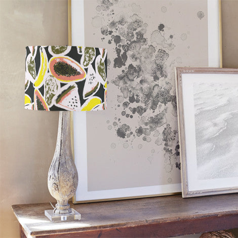 Fruit mix Self Launch Drum Lampshades