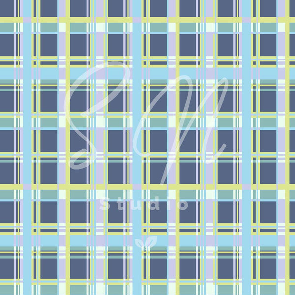 Modern Check pastel surface for licensing