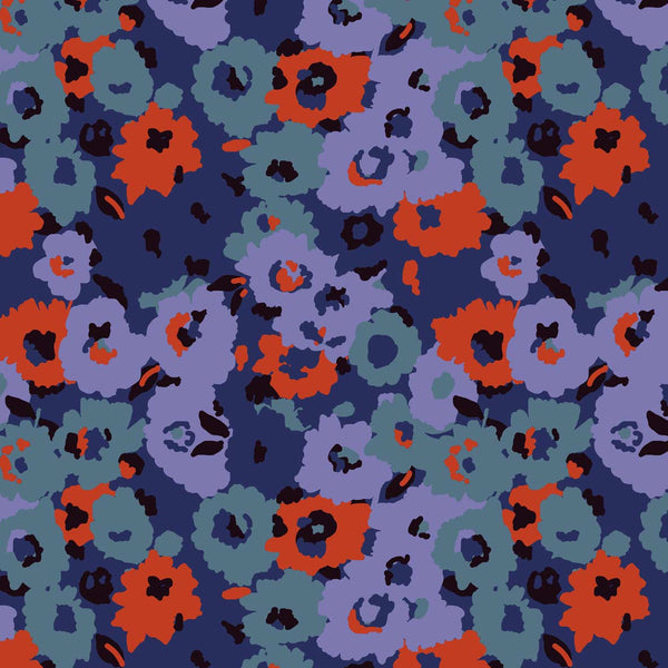 Naive scandinavian vibe flowers for licensing from Susanna Nousiainen studio