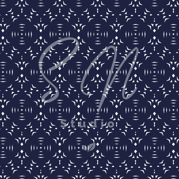 Nordic Blue surface pattern design available from Susanna Nousiainen studio