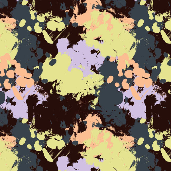 Paint Splash naive surfware pattern available for licensing