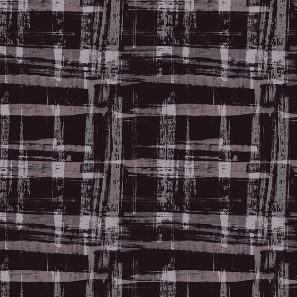 Painted Check dark tone surface design from Susanna Nousiainen Studio