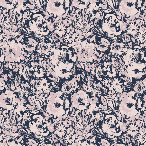 Watercolor vibes pattern surface design available for licensing from online pattern studio