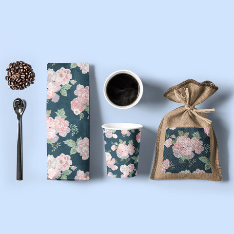 flowers print on paper products