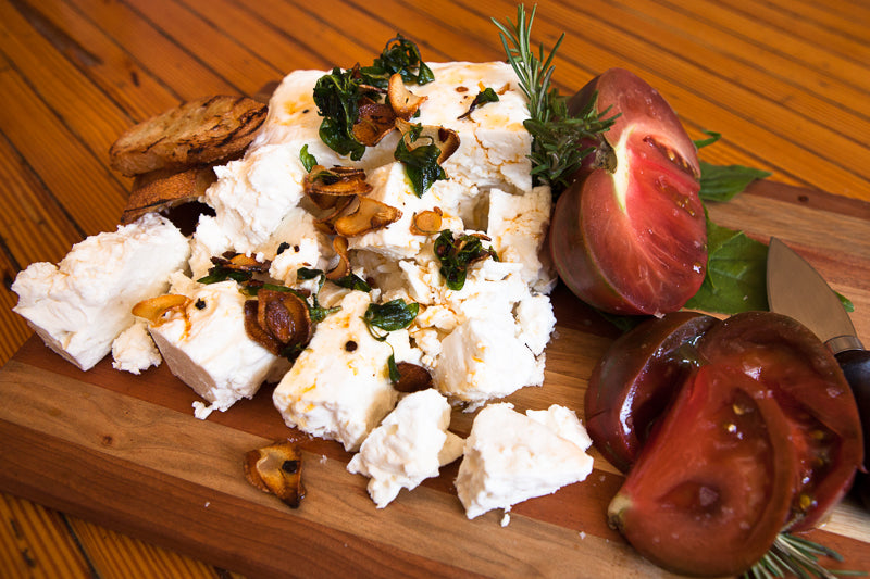 Cheeseboard with Feta Lesbos - by Mia Nakano Photography