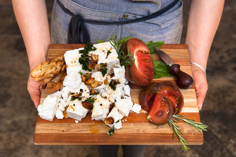 Cheeseboards with Feta Lesbos - by Mia Nakano Photography