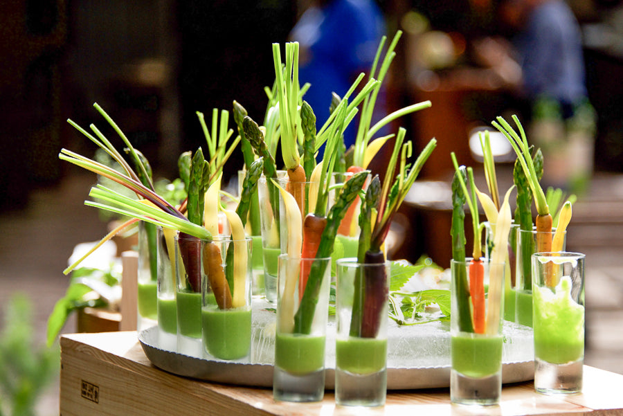 Crudites and Housemade Dip<br/>photo by Britt Rene Photo