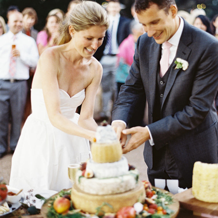 memorable wedding catering by The Cheese School of San Francisco