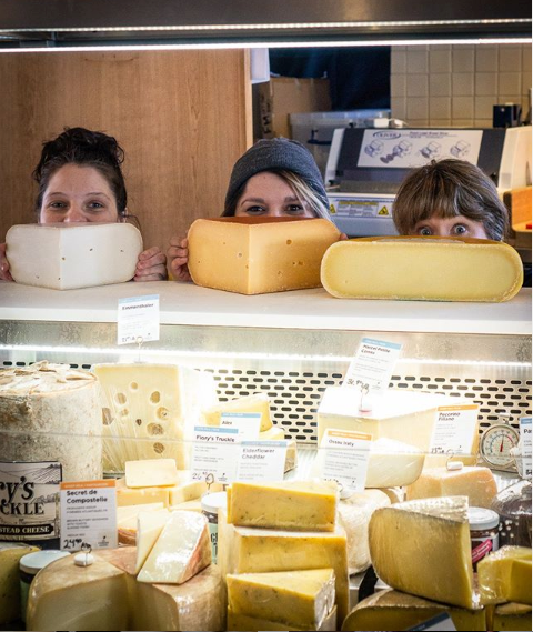Cheese Counter - Cheese Mongers!