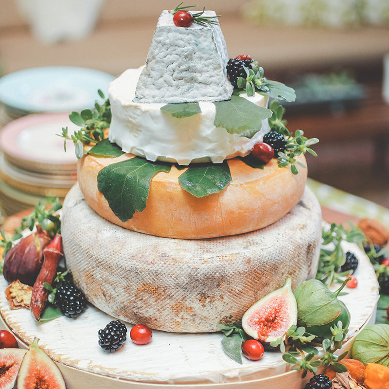 unique wedding cakes by The Cheese School of San Francisco