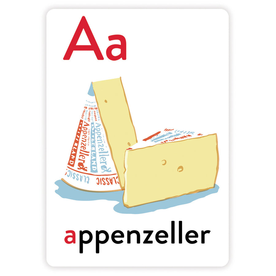 The Cheese School Alphabet Greeting Cards The Cheese School Of San