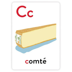 Alphabet Greeting Cards - C is for Comte