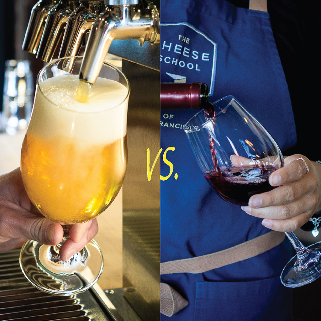 Cheese Pairing: Beer Vs Wine<br/> Tue, Sept 24