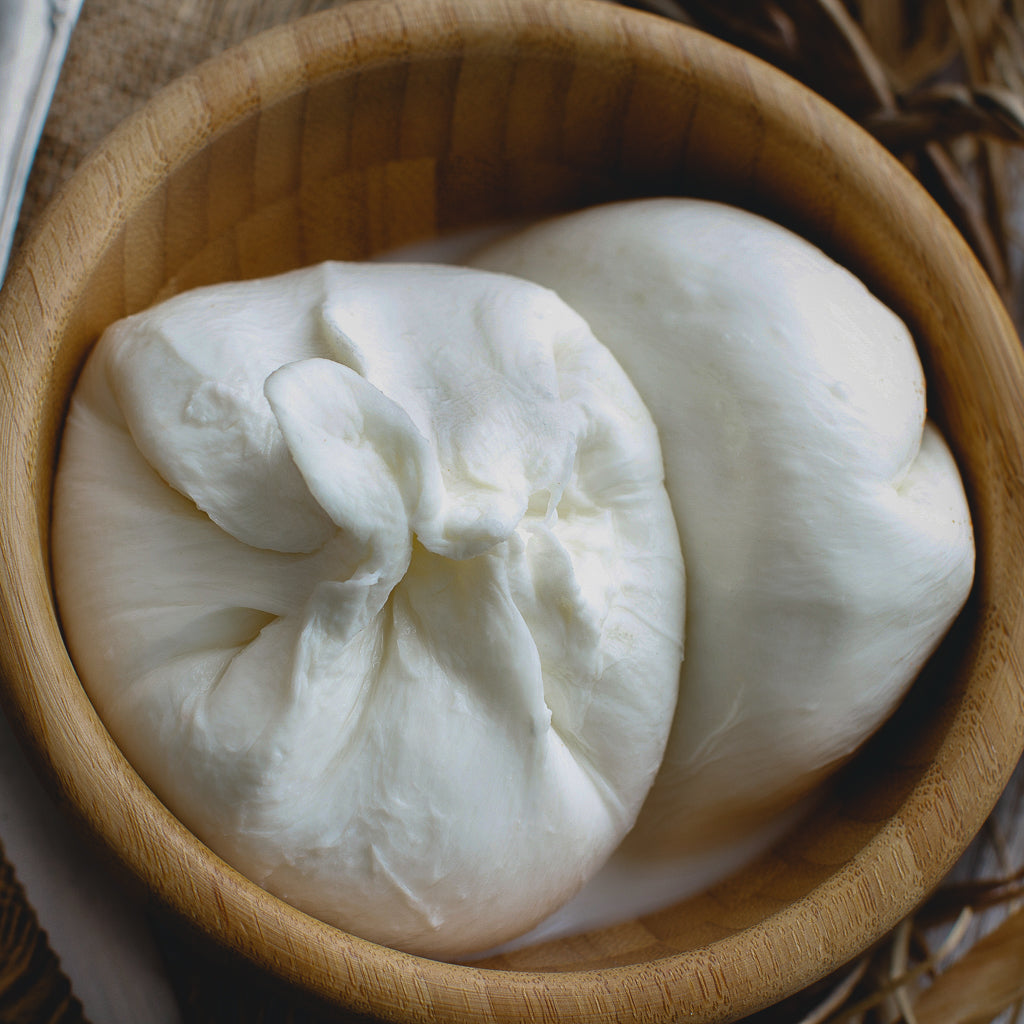 Cheesemaking: Mozzarella + Burrata <br/> Sun, Jun 9