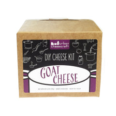 DIY Cheesemaking Kit - Goat Cheese (8 batches)