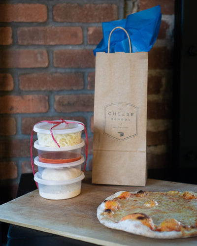 The Cheese School </br>Pizza Making Kit