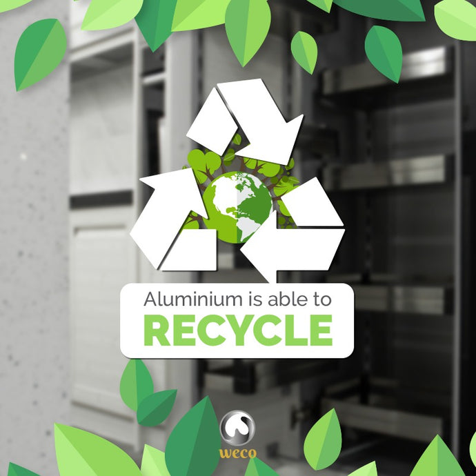 Aluminium is able to RECYCLE!