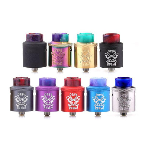 Dead Rabbit RDA 24mm By Hellvape X Heathen