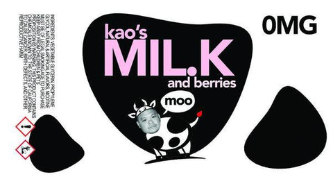 Kao's Milk and Berries