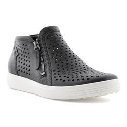 Soft 7 W Black Droid Cut Out Hi Top