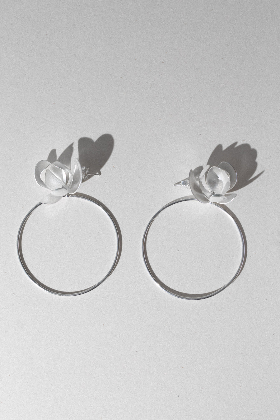FRIDA EARRIGS NENU HIGH silver