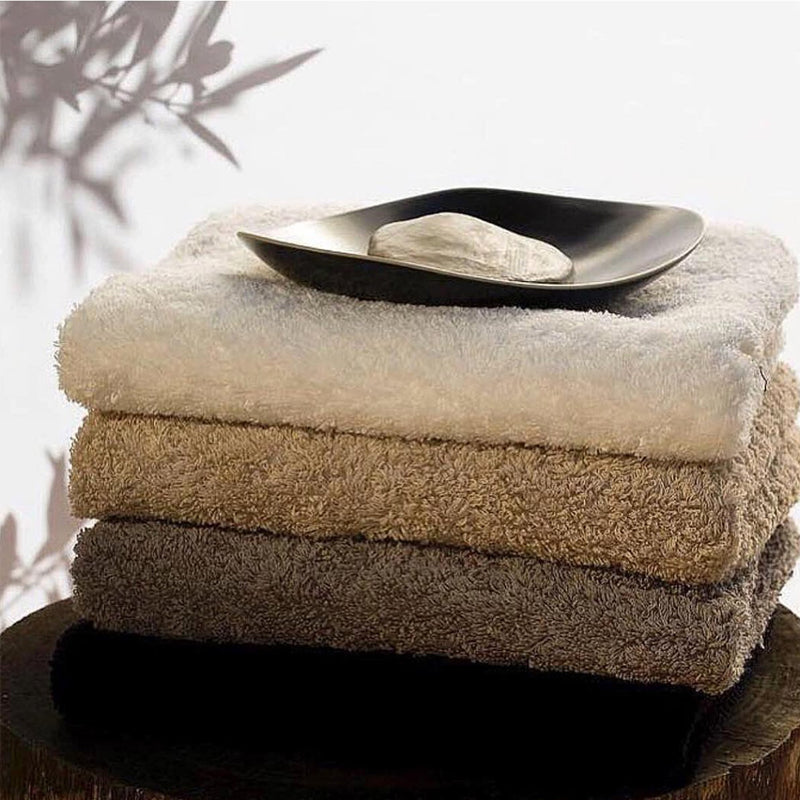 Abyss & Habidecor towels are made from Egyptian cotton. Plush, absorbent, and perfect for creating a home spa in 2021