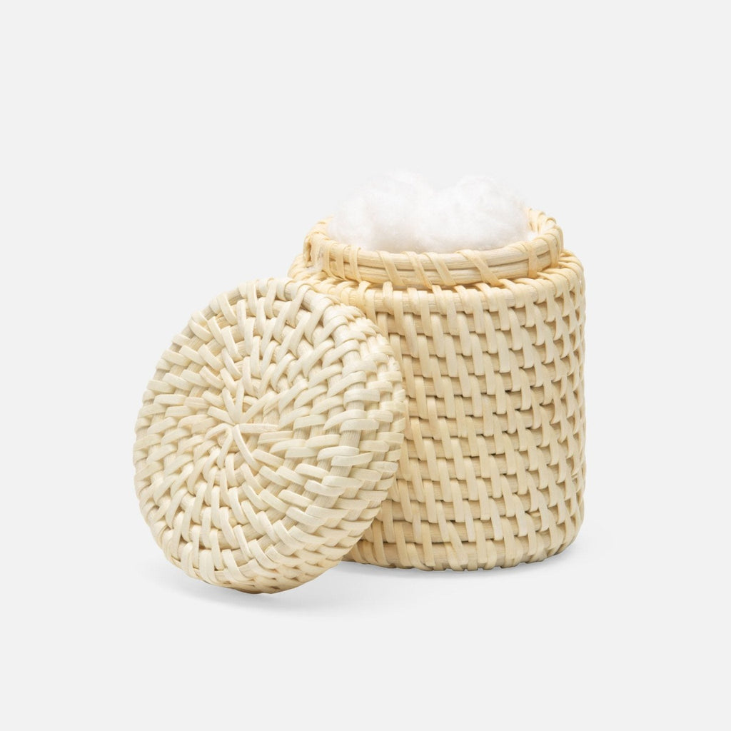 Pigeon & Poodle Dalton Natural Rattan Canister