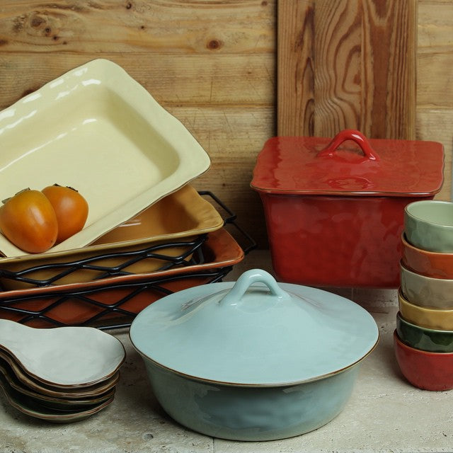 Skyros Designs Cantaria Stoneware Covered Casserole