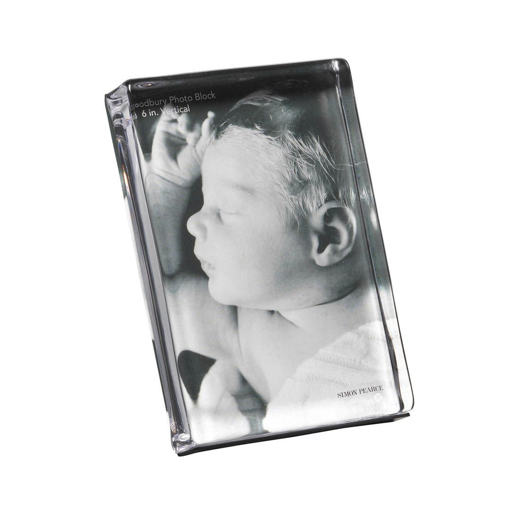 Woodbury Vertical Photo Frame in Gift Box