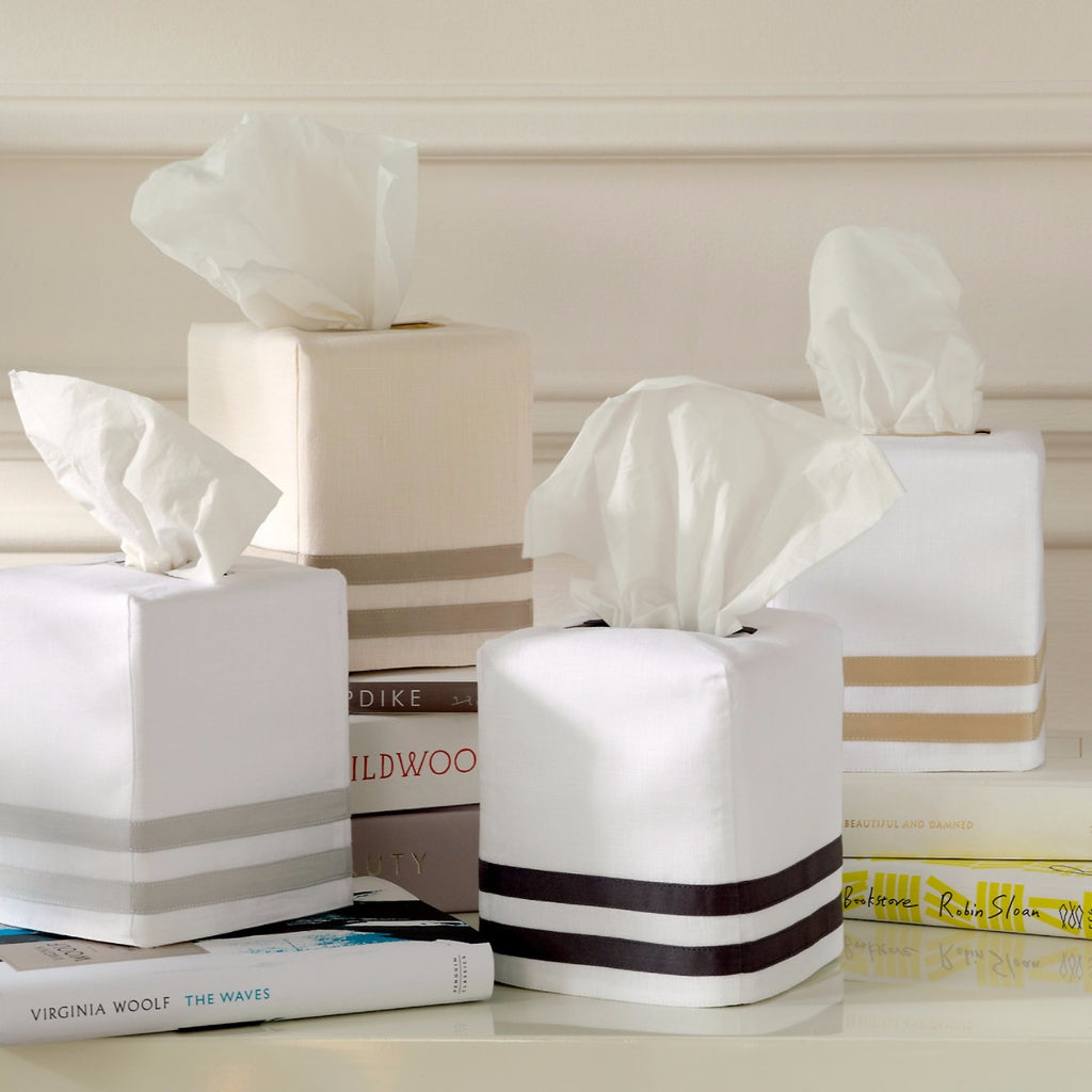 matouk allegro tissue box cover